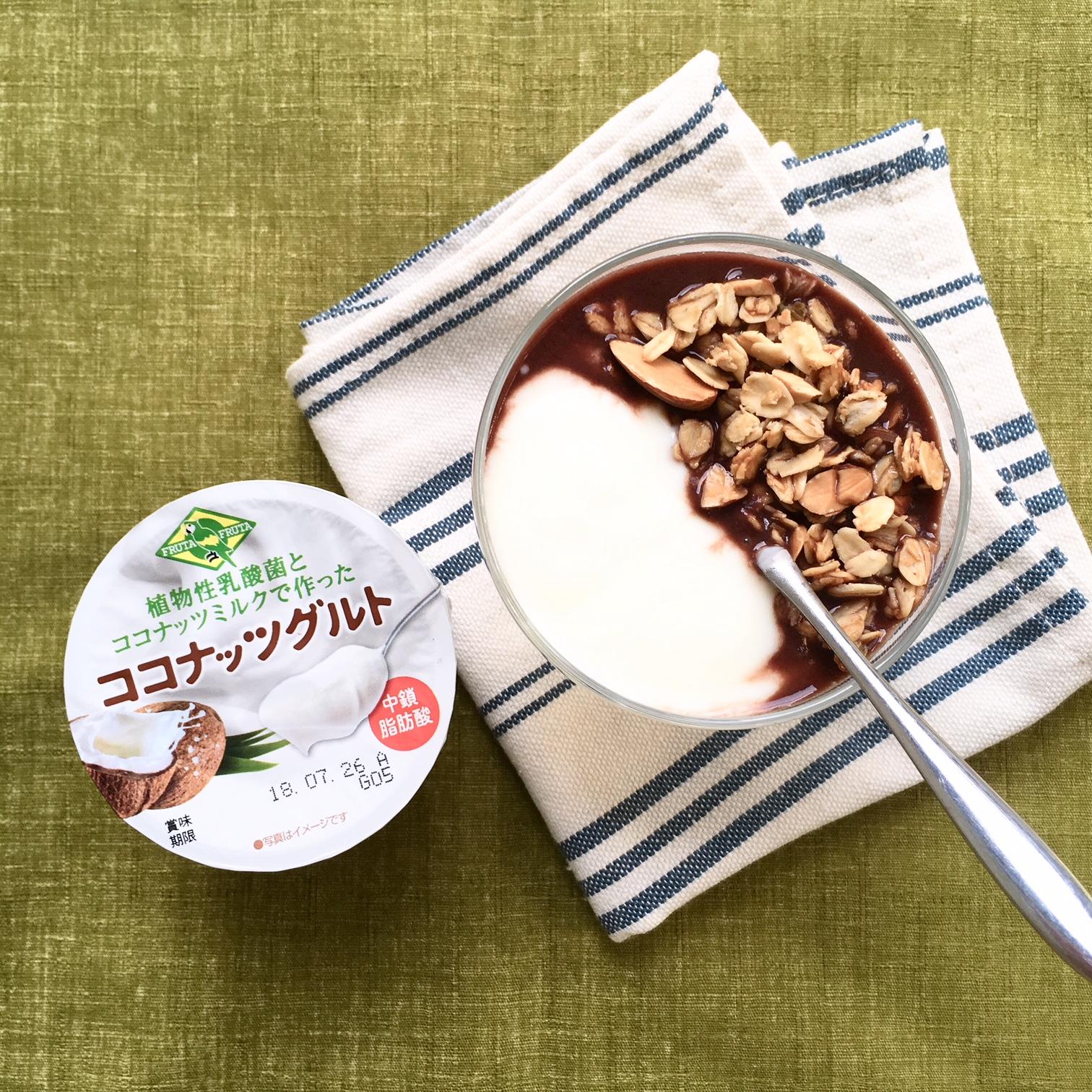 ミルク 栄養 ココナッツ